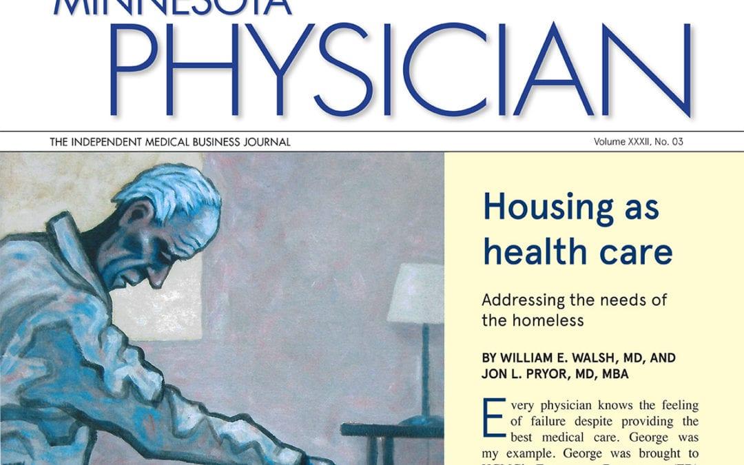 Housing as Healthcare | Minnesota Physician